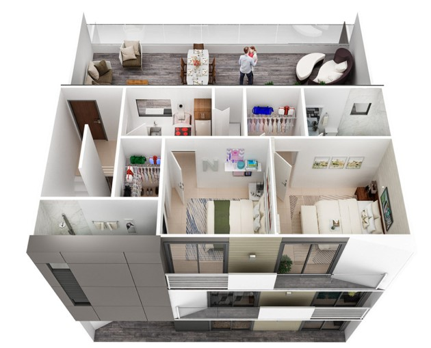 grandville-place-miami-floorplan-third-floor-3d